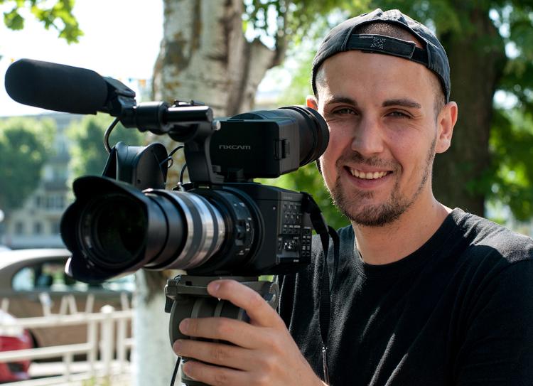 Андрей Андрющенко, оператор телевидения