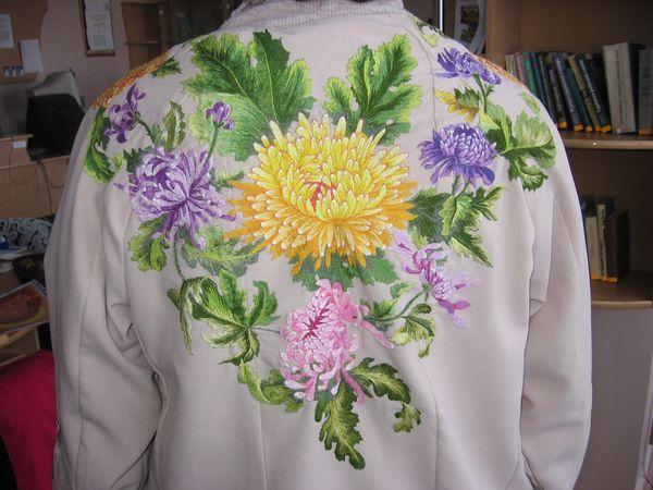 Художественная вышивка мастер класс